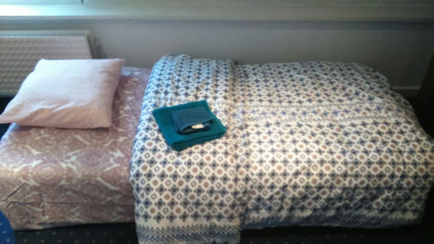 Twin room(one double bed and one single bed) - Zaventem - Talo
