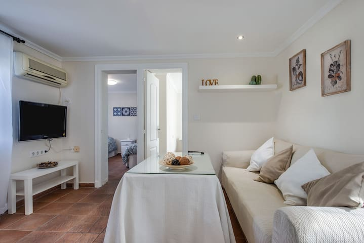 Central Apartment Bodegas Centro with Air-Conditioning; Street Parking Available