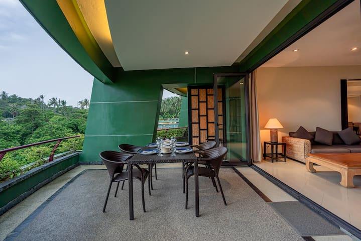 Wonderful 2 Bedroom Garden View Over Kata Beach