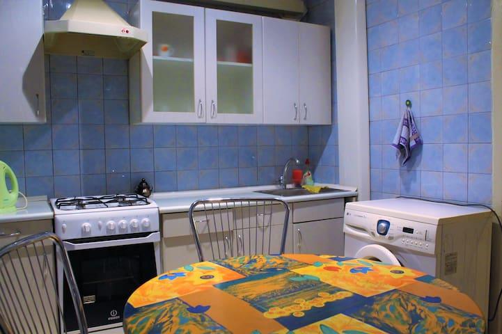 Уютная 2-комн.квартира,комнаты раздельные,WI-FI - Zaporizhzhia - Apartment