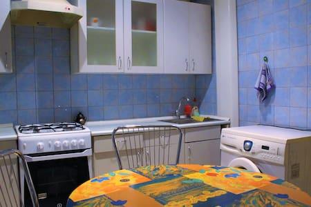 Уютная 2-комн.квартира,комнаты раздельные,WI-FI - Zaporizhzhia - Lejlighed