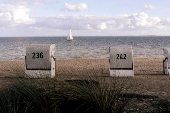 Ahoi, kleine aber fein an der Ostsee nahe Strand
