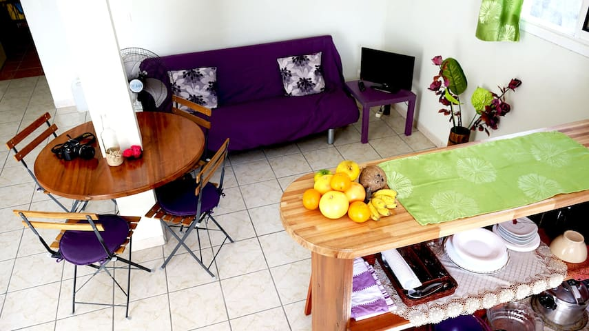 Comfortable cosy apartment - Le Lamentin - Apartament