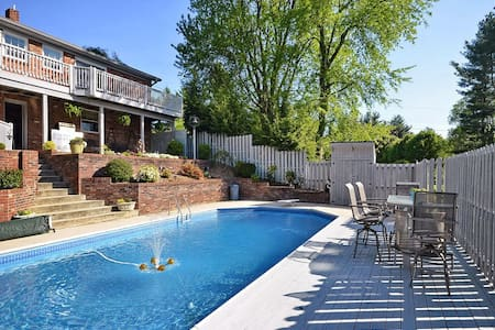 The Glencliff - Pool and Spa - Candler - Casa