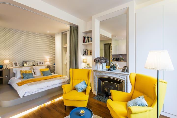 Lovely Studio - Croix-Rousse - Lyon - Wohnung