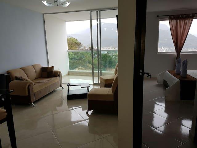 Apartamento con vista panorámica a San Gil - San Gil - Leilighet
