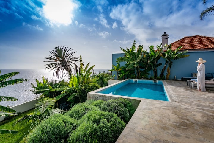 Pirate House Sea Front Private Pool Garden Funchal