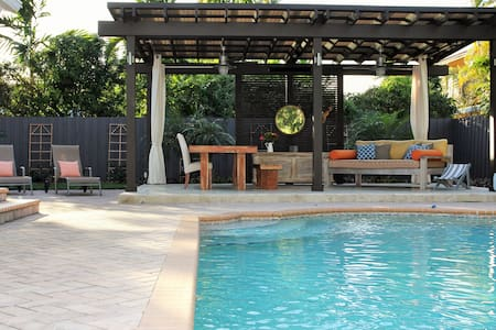 New, Lovely, Chic, Fun, Family Home - Coral Gables