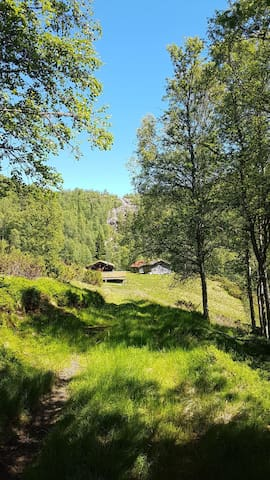 Forstøyl- unique, old and beautiful cabin place.