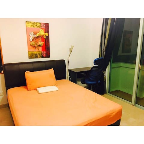 Private room with balcony - for single pax