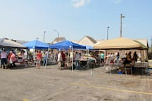 Summer Farmers Market open every Saturday from  June to October