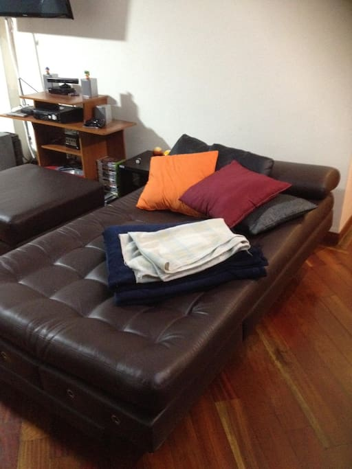Double sofa-bed