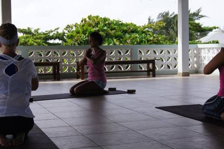 Yoga @ Zen Belize with Tara