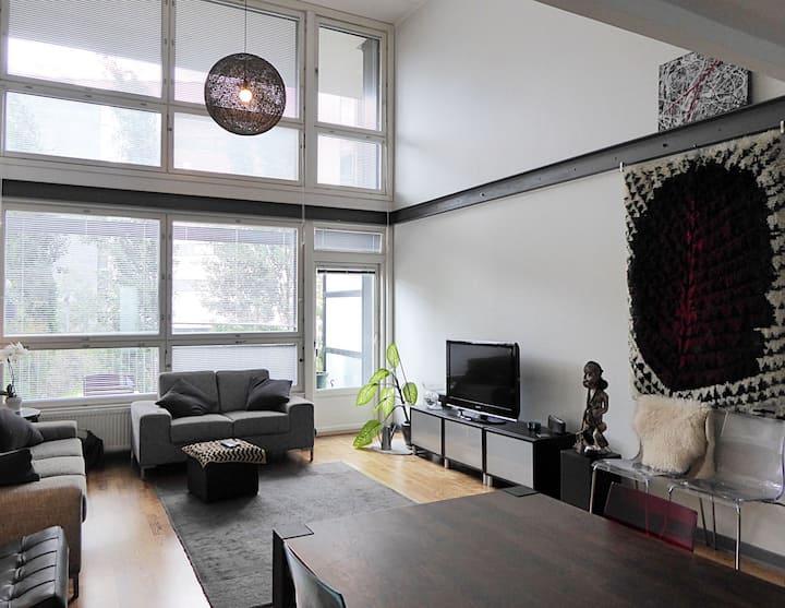 Loft apartment in design area!