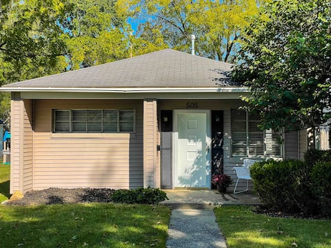 Walk to Uptown Maumee from this light filled home