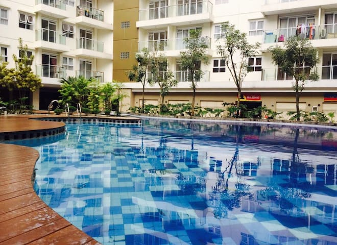 Gateway Pasteur Apartemen  Studio With Extra Bed