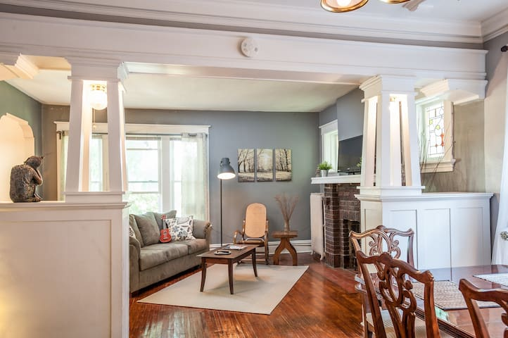 Charming Upstairs Apartment Family-Friendly - St. Louis - Daire