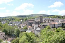 Eymoutiers - town view