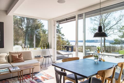 Sjönära design pärla i Sörmland, ca timme fr STHLM