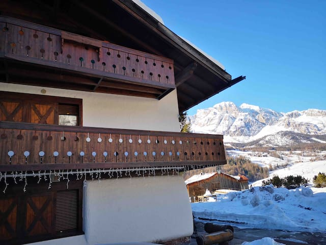 Apartment with Dolomites view
