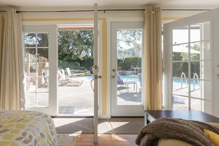 Lovely Poolside Cabana - Orinda - Bungalow