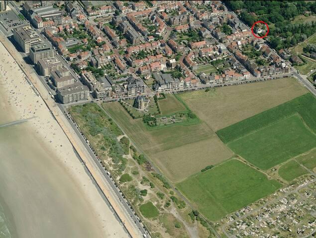 Villa Louis Oostende (18p) - Oostende - Villa