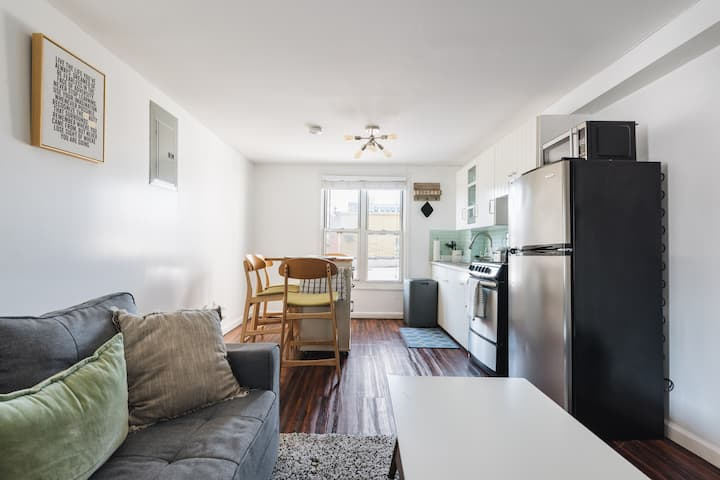 A cozy two bedroom  Park slope Apartment