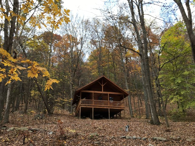 Little Valley Log Cabin Retreat at Camp Liberty