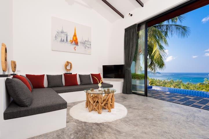 The Plantation - 3 bedroom boutique villa - Ko Tao - House