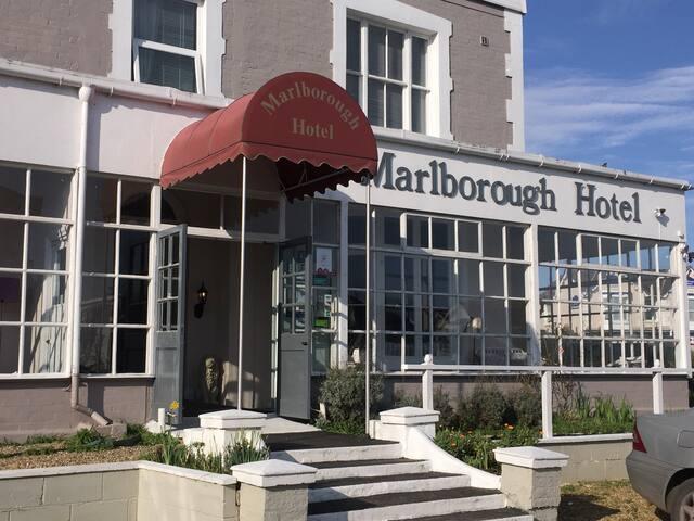 Marlborough Hotel , Shanklin , Isle of Wight