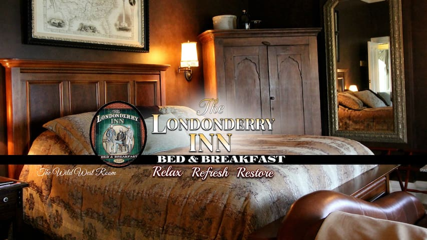 THE LONDONDERRY INN B&B's Wild West Room - Palmyra - Bed & Breakfast