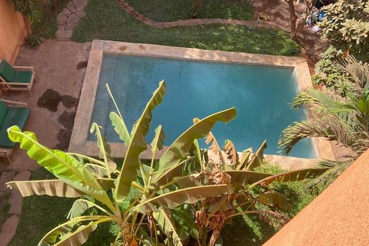 Magnifique villa piscine à Baco Aci Djicoroni Golf