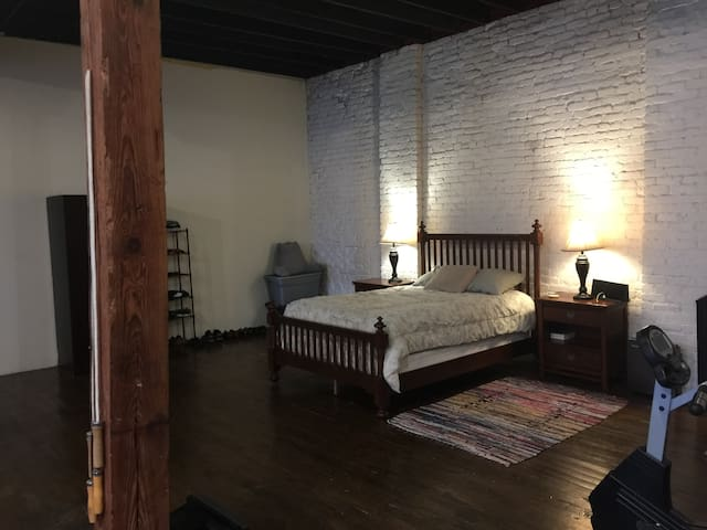 Amazing 1500 Sq. Ft. Loft in Historic Building