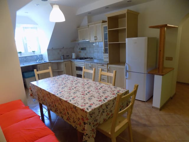 Cosy attic apartment with three bedrooms - Mikulov