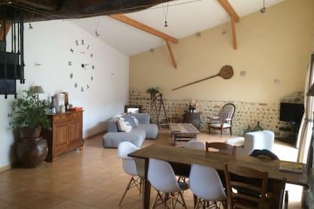 Maison de ville avec jardinet st denis centre - Saint-Denis-en-Bugey - Rumah