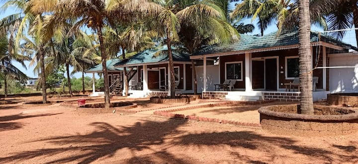Coconut Tree Resort With Double Bed Room Non AC