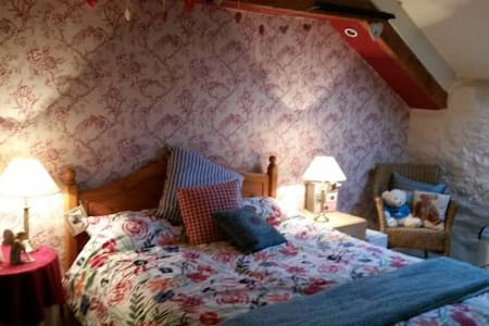 Large Bedroom, The Old Milking Parlour and Ensuite