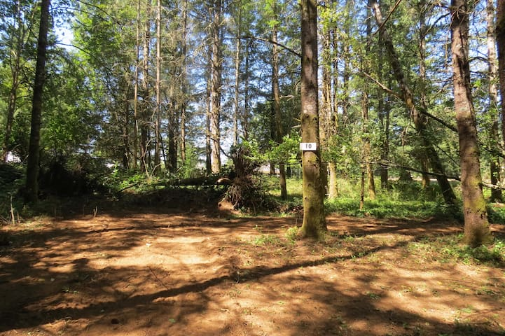 PICTURESQUE DRY TENT CAMP SITE & GOLF ON 14 AC