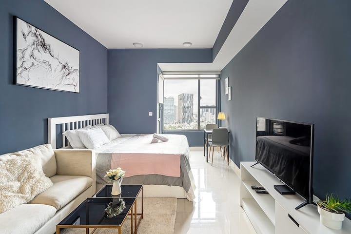 The Rivergate - modern and cozy condo studio