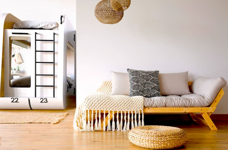 Co-Ed Dorm┃Bunk Top Bed #22