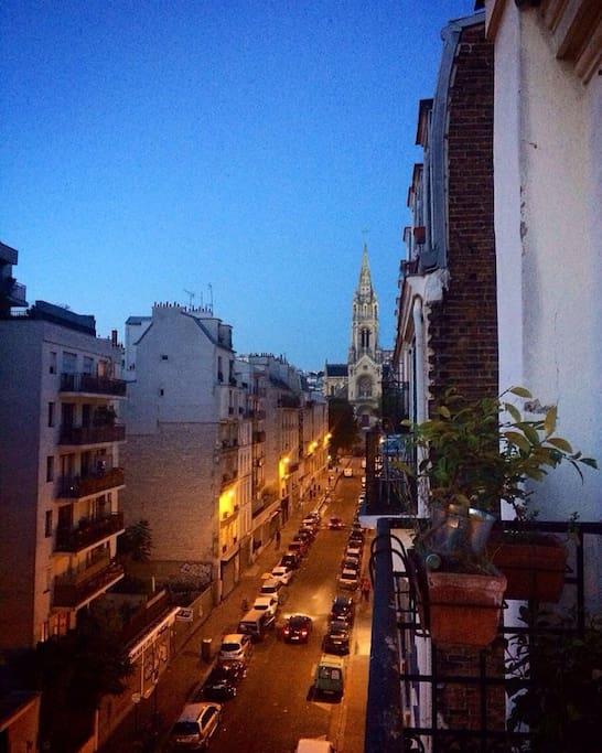 Balcon. Balcony