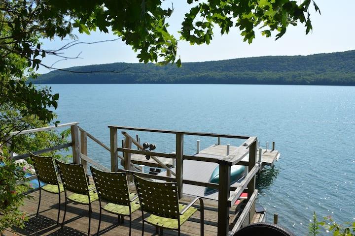Two homes, sleeps 22! Lake Property w/ Pool & Dock