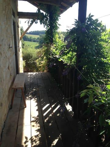 Balcony leading to bedroom 4