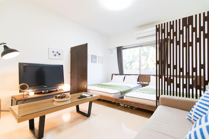 NEW OPEN★Luxurious Apt.@Yokohama/China Town#ES122 - Minami Ward, Yokohama - Appartement