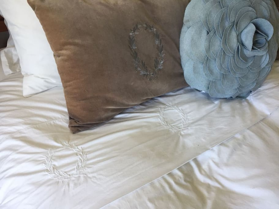 Superior Linen in all rooms