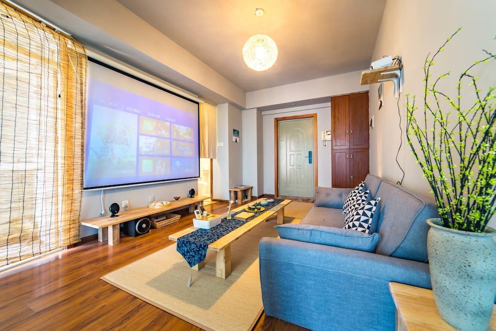 客厅(图片存在角度、光线、拍摄时间等差异,最终以实际入住的房屋状态为准)