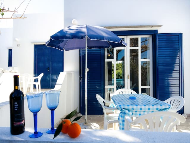 Bungalows Ingrid - only 350m to the beach - Paralia Asinis - House