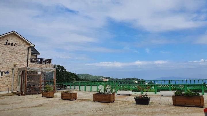 🏖(독채) view가 예쁜  해미래 펜션