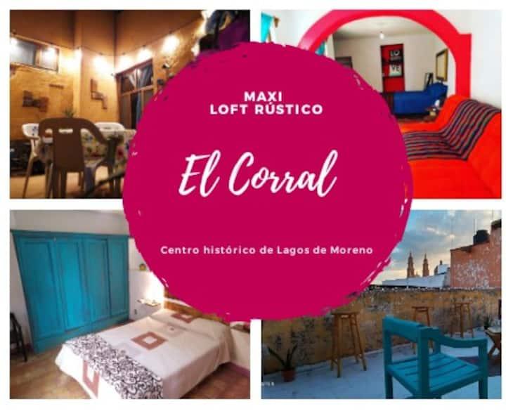 """Maxi Loft Rústico """"El Corral"""""""
