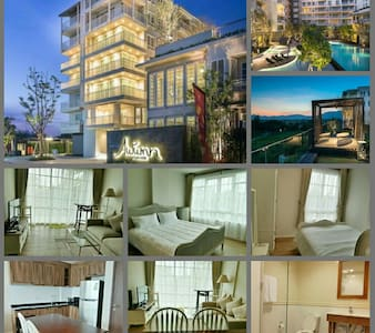HuaHin Autumn condo for rent /2brs - Hua Hin - Lejlighed